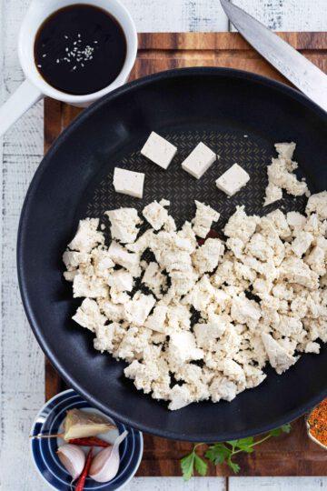 rapea paistettu tofu resepti