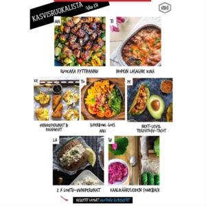 Ensi viikon ruokalista!👇Ensimmäinen radikaalisti erilainen arkiviikko takana, paljon on jo opittu. Kuten se, että yhteisössä on voimaa ja että ruokalista (ja lukujärjestys) on hyvä suunnitella etukäteen. . ✅Nappaa siis alta tai ohesta kasvisruokalista ensi viikolle, reseptit löydät . 👉jalotofu.fi/reseptit👈 . 💚Terveyttä, yhteishenkisyyttä ja kiireettömiä ruokailuhetkiä kaikille!💚 . ✨✨✨MA: Ruokaisa pyttipannu Next-level helppo pyttis, joka jää arkiruokien listalle. Mitä-jääkaapista-löytyy-vihannekset tai perheen suosikkiveget kätevästi hyötykäyttöön! . 🔥🔥🔥TI: Nopein lasagne ikinä Nerokas, 10 min valmistelulla uuniin lähtevä, täyteläinen lasagne. Jos sitä jää, lämmitä huomenna yhdelle aterialle tai pakasta. Äidin ässä hihassa -resepti. . 🌱🌱🌱KE: Herkkuperunat + pikapihvit Koska peruna litistettynä, paahdettuna ja suolalla maustettuna vaan uppoaa. Ja koska tofupihvi valmistuu superhelposti ja on napakymppi teriyakimarinadilla maustettuna. . 💫💫💫TO: Superbowl goes arki Väriä arkeen kauniilla riisipohjaisella kulholla, johon voi valita omia suosikkivihanneksia. Annoksen kruunaa suolaisenmakea, rapea tempe. . 🌞🌞🌞PE: Next-level teriyakitofu tacoihin Arkiviikon päätökseen kestosuosikki, tex mex! Rapeaksi paistettu, täydelliseksi maustettu teriyakitofutäyte kolahtaa myös niille, jotka ovat tottuneet kanaan. . ⭐️⭐️⭐️LA: 2 x lohtu-uuniperunat Ulkoilun päätteeksi, leffaillan alkuun tai ihan vaan hitaaseen kotoilupäivään iisit uunuperunat proteiinipitoisella täytteellä. Kaksi vaihtoehtoa, valitse omasi! . 🌸🌸🌸SU: Kaalikääryleiden comeback Perinteistä (ja edullista!), ihan uudella punajuuritofun pinkillä twistillä. Kaalikääryleet ansaitsevat paluun tykättyjen kotiruokian listalle, tästä voi aloittaa &