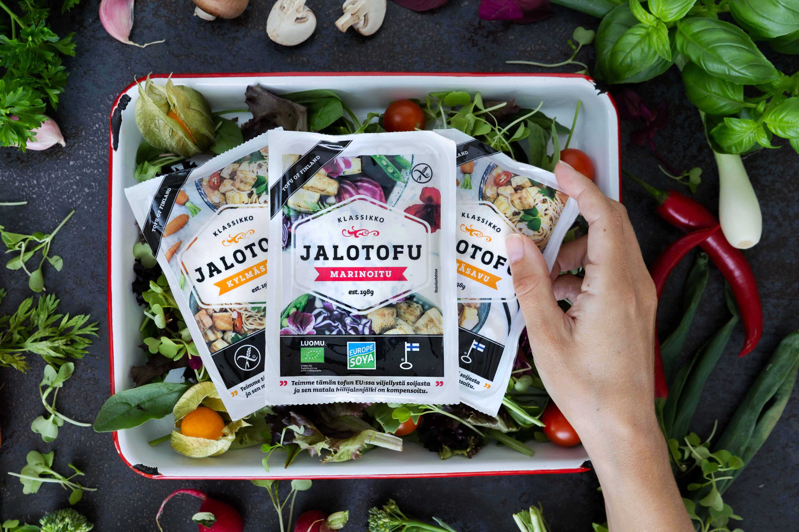 Vastuullinen soija ja tofu tuote