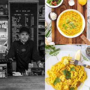 """Keittiömestarit, nuo ruoka-alan luovat makutaiteilijat, kuinka teitä ihailemmekaan! Helsingin Uudenmaankadun bistroklassikko """"Ysibaari"""", eli Cafe Bar No 9, on ehkä joidenkin mielestä yllättäenkin tärkeä kasvisruokakulttuurin suunnannäyttäjä.  Vuodesta 2014 alkaneen yhteistyömme aikana Jalotofu on päässyt Ysibaarin jopa 8 klassikkoannoksen kasvisversion päätähdeksi ja kuulemma näitä menee nykyään yhtä paljon kuin """"normiversioitakin""""! Aika huimaa! Kiitos tästä Antti ja muu keittiötiimi!  ️🧑🏻️ Yksi Ysibaarin kestosuosikeista on #Tofulimonello, eli vegaaninen versio klassisesta Pollo limonello -sitruuna-kanapastasta. Nauti paikan päällä tai testaa itse tällä reseptisivustomme hittireseptillä! 🍋 #keittiömestarinsuositus x  Reseptit sivuiltamme  https://jalotofu.fi/.../tofu-limonello-sitruunainen.../ 🍋 jalotofu.fi/reseptit/helpoin-tofu-limonello-sitruunapasta/ . . ."""
