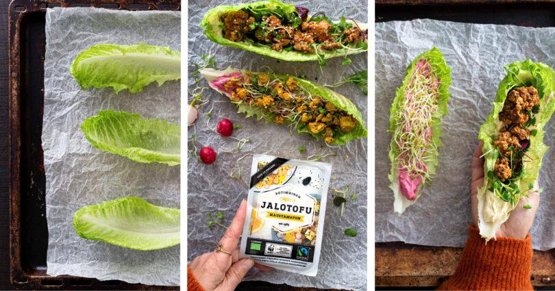 Jalotofu WWF salaattiveneet resepti