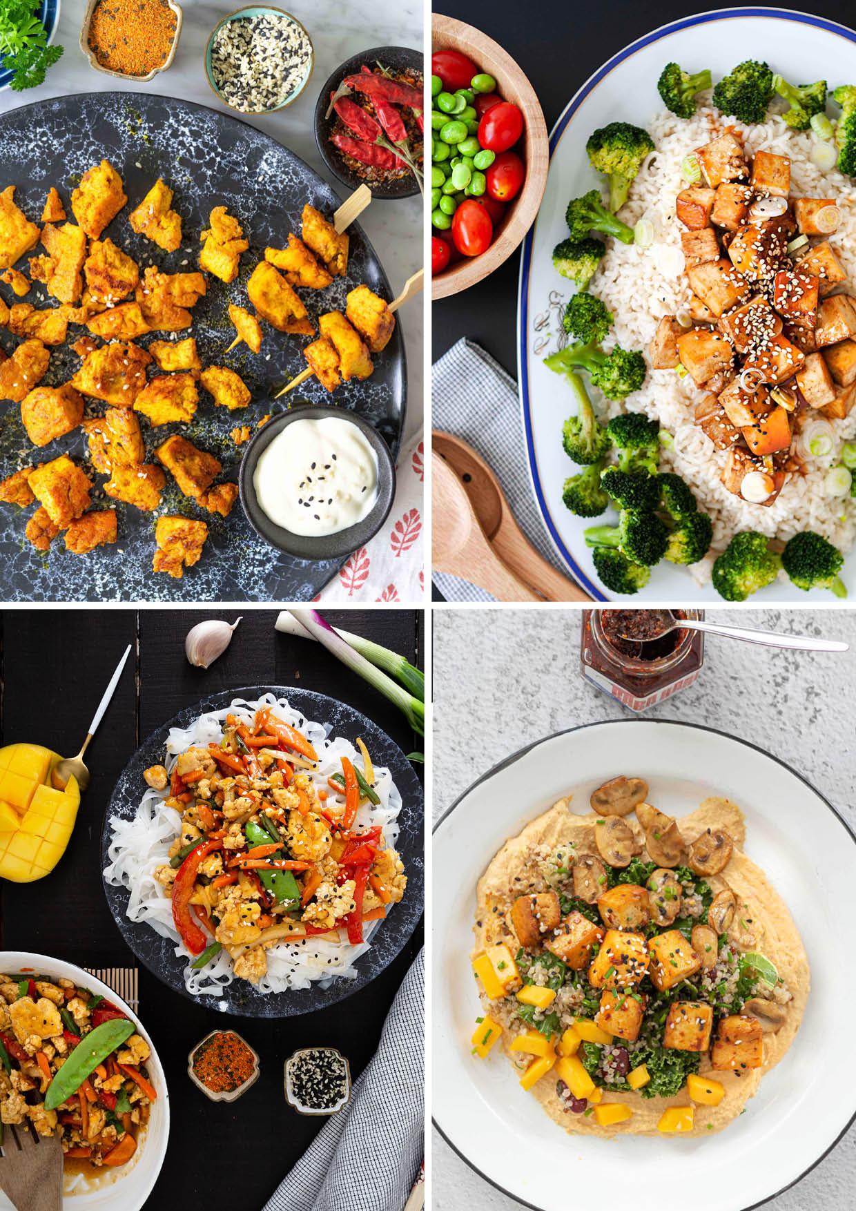 Nopeaa ja helppoa arjen kasvisruoka reseptiikkaa.