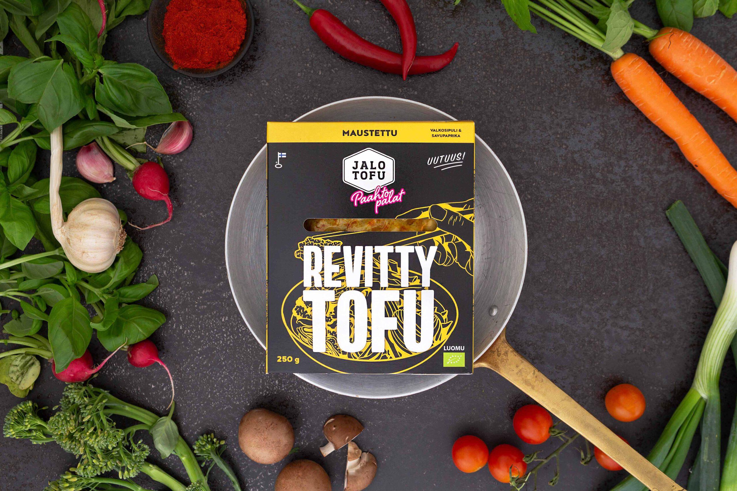 uuutus tofu tuote kasviproteiini