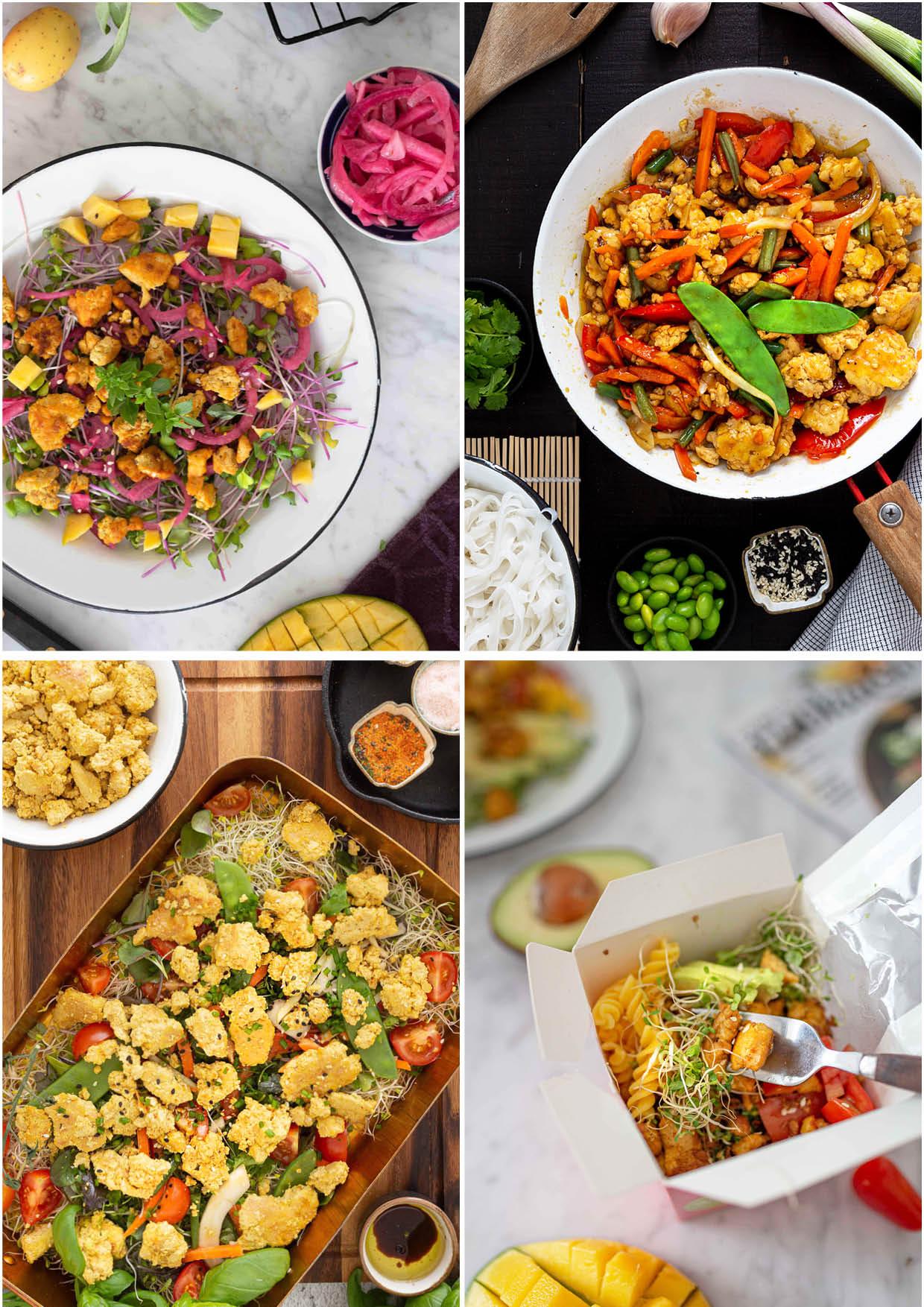 Helpot vegereseptit työpäivän lounaaksi