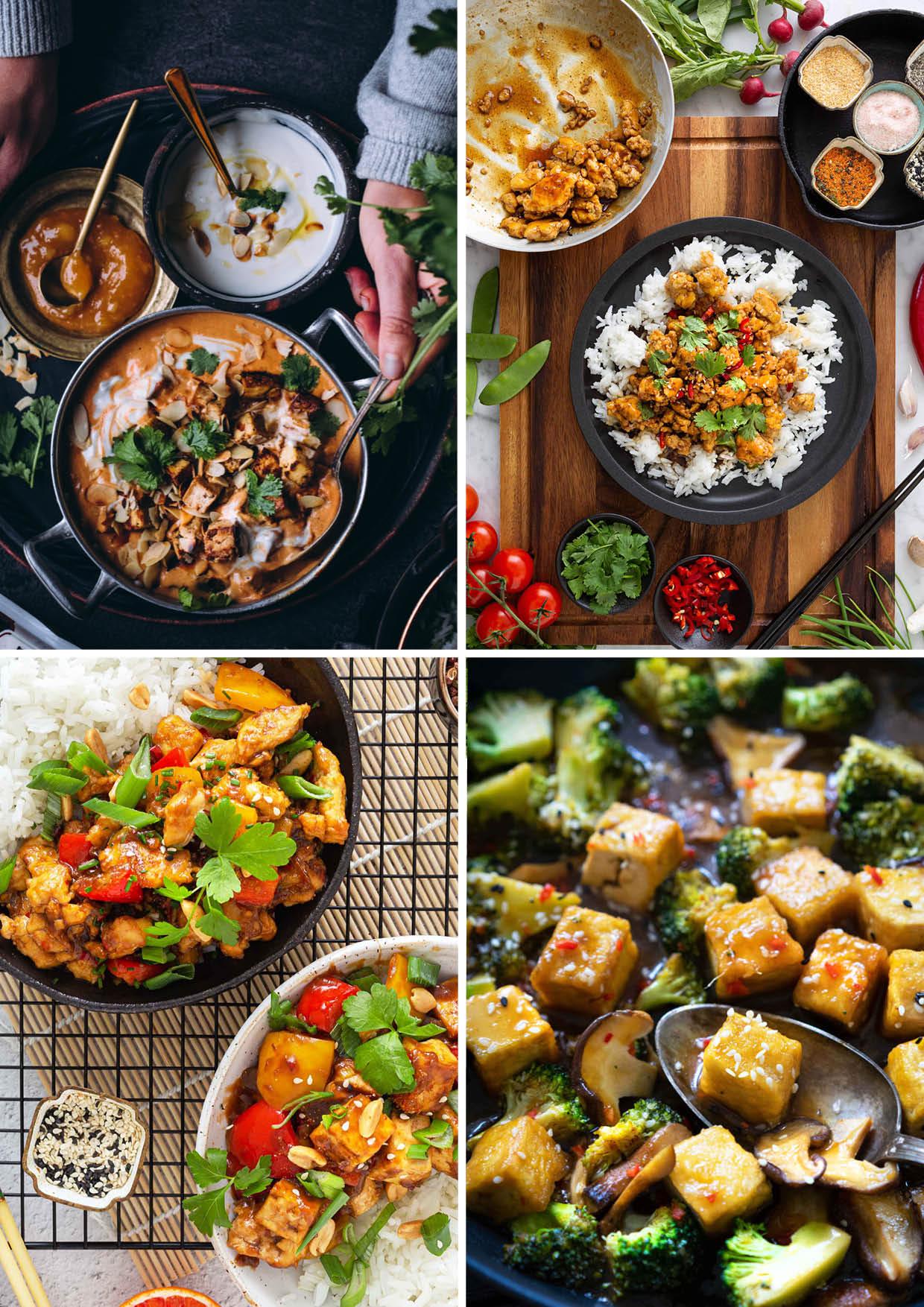 Maistuvaa aasialaista ruokaa.