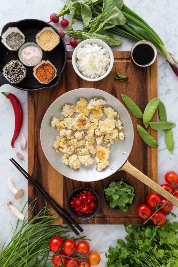 Teriyaki tofu kastike Jalotofu Paahtopala