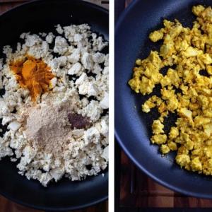 UUSI RESEPTI 👇 — joka onkin aivan erityisen nerokas 💯 Paljastettakoon, että osa todella maukkaan vegaanisen kokkelin taikaa on tofun lisäksi (ja musta suola)! Vahva suositus suosikkiaamupalaksi! 🍳 . 👉 jalotofu.fi/reseptit